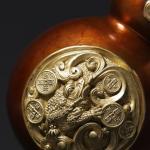 【金蟾葫芦】纯铜葫芦摆件