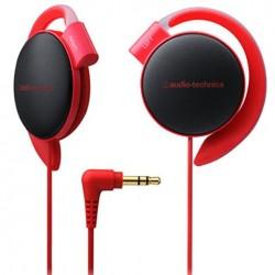 audio technica 铁三角 ATH-EQ500 RD 挂耳式耳机 红色