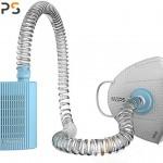 MOPS 忻风便携空气净化器 智能防雾霾PM2.5口罩 浅蓝 智能硬件 自主研发