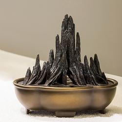 【一鼎巅峰】山子铜手工香炉