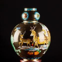 【四方祥和】景泰六福之葫芦瓶[套]