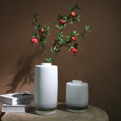 【水墨青瓷】新中式水墨陶瓷花瓶