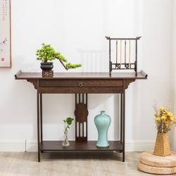 【古朴供桌】新中式实木供桌条案