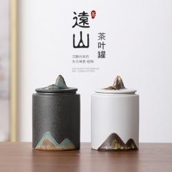 【远山茶具】复古手工釉画彩茶具